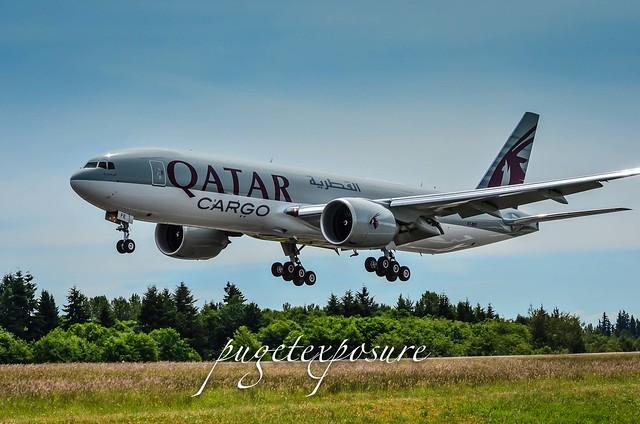A7-BFE Qatar Airways Cargo Boeing 777-FDZ - cn 39644 / ln 1110