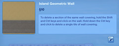 Island Geometrioc Wall