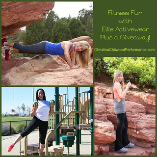 Fitness Fun with Ellie Activewear Plus a Giveaway!