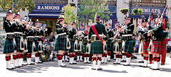 SCOTS Band in Gibraltar - Band & Pipes