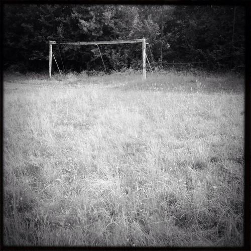 old soccer field, ensdorf/bavaria