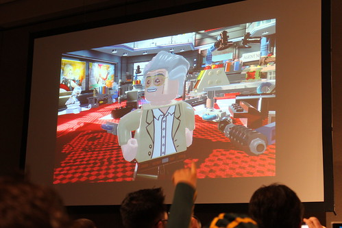 Stan Lee in LEGO Marvel Super Heroes Video Game