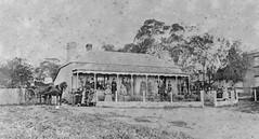 Buckland House Academy, Willunga, ca 1870