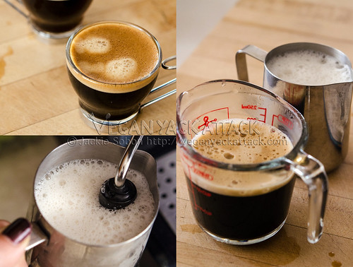 Pulled espresso