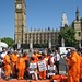 Ray Silk addresses Shaker Aamer protest