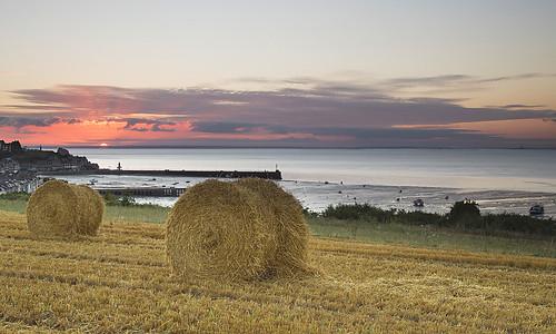 port sunrise bretagne leverdesoleil cancale littoral eté illeetvilaine 2013 lahoule