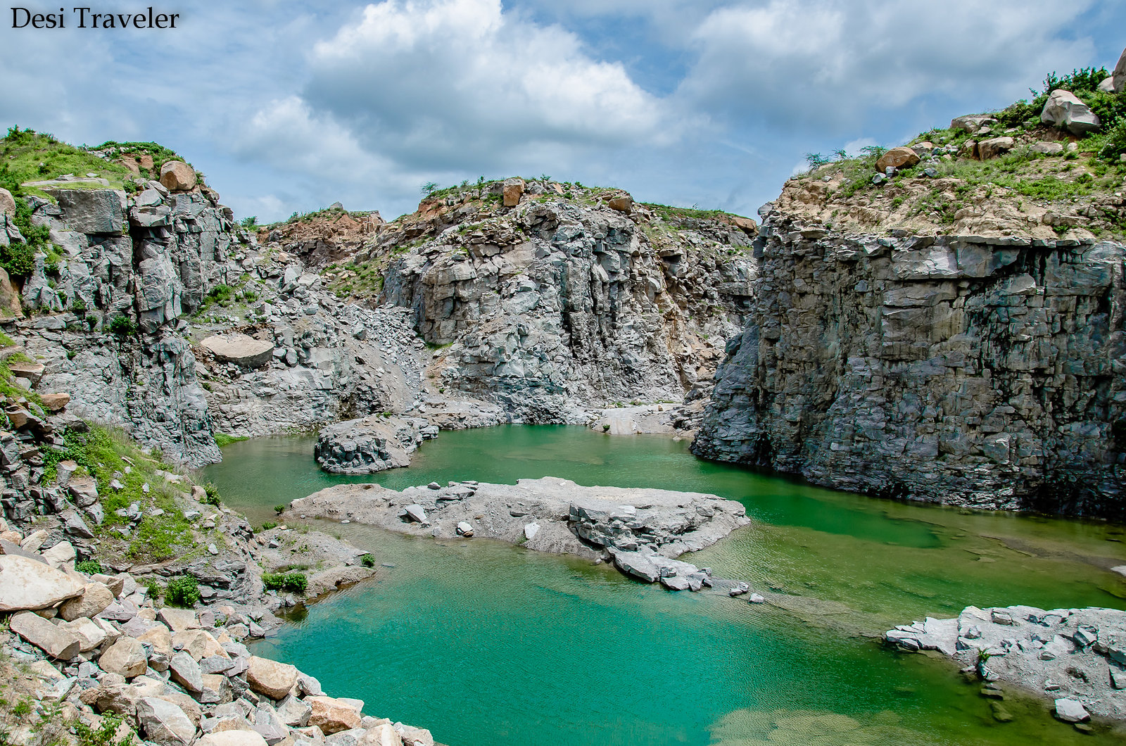 Hidden Canyon lake Hyderabad