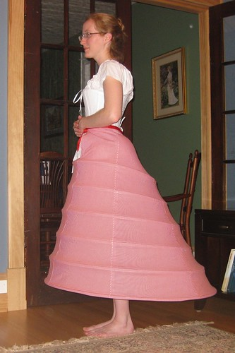 Late 1860s Crinoline Side - LM112
