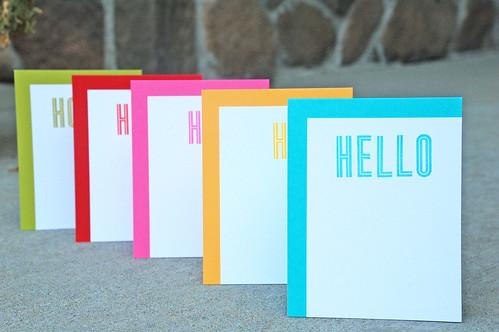 Modern card set1
