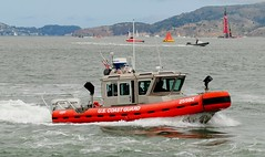 ship(0.0), pilot boat(0.0), inflatable boat(0.0), tugboat(0.0), vehicle(1.0), sea(1.0), boating(1.0), motorboat(1.0), patrol boat(1.0), rigid-hulled inflatable boat(1.0), watercraft(1.0), rescue(1.0), boat(1.0), coast guard(1.0),