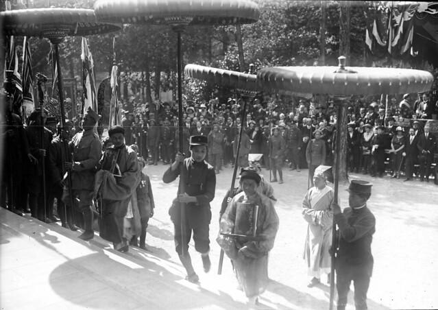 9-6-1920 - Lễ khánh thành Đền Kỷ Niệm Tử sĩ Đông Dương