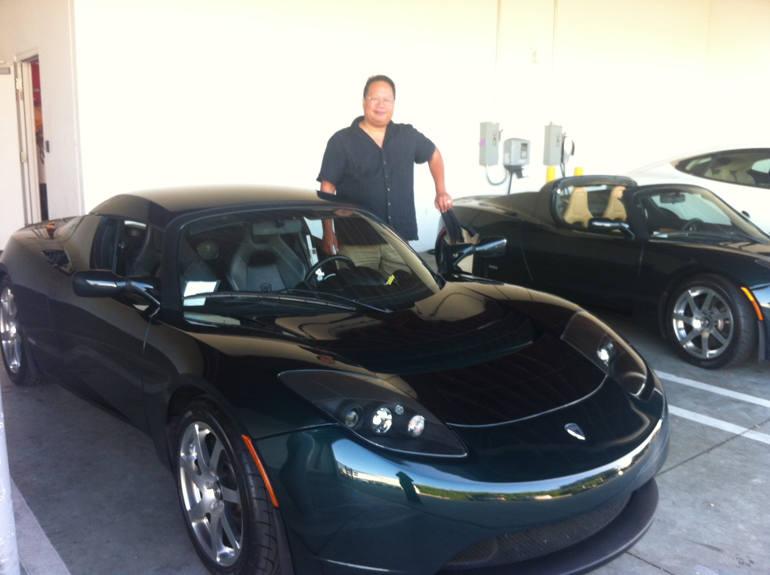 Welcome Home Tesla Roadster 40 And First Disaster My Activee