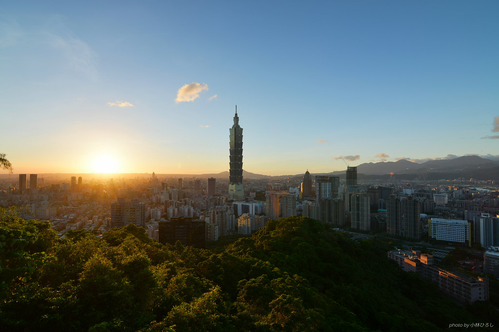 Sunset at Taipei