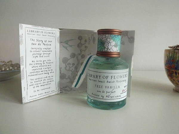 Library of Flowers - True Vanilla Perfume