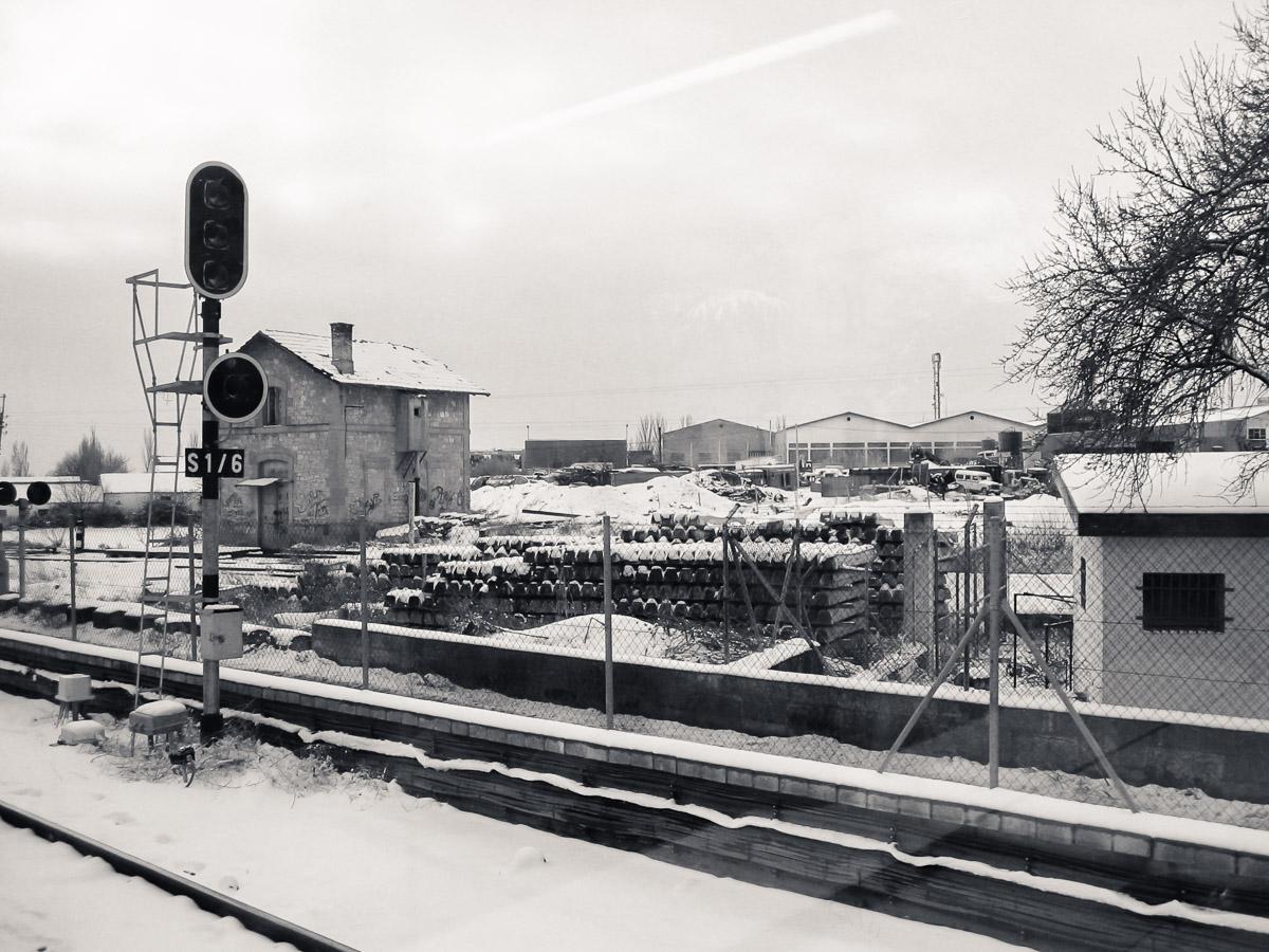 Gran nevada en febrero de 2005