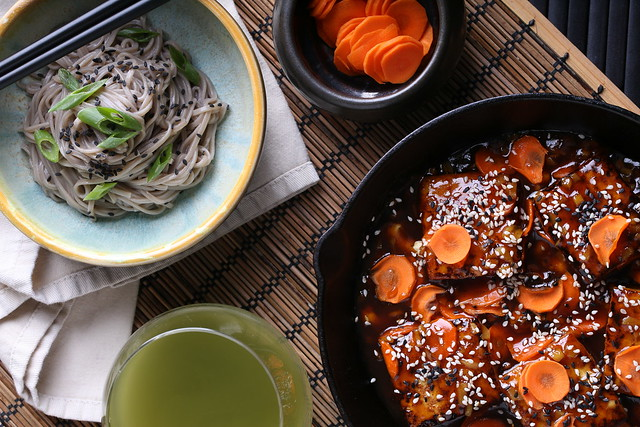 Quick and Easy Carrot-Ginger Tofu