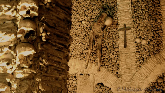 Postcard from the Chapel of Bones, Portugal