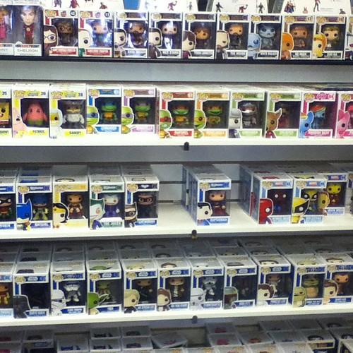 I want them all! #popvinyl #funko #LCS #toygeek