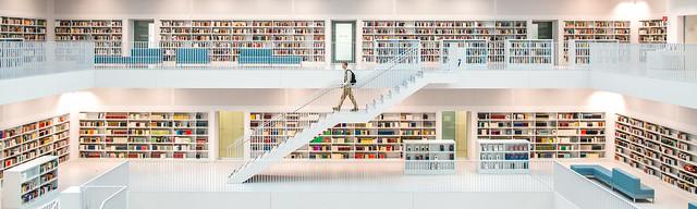Stadtbibliothek, Stuttgart.