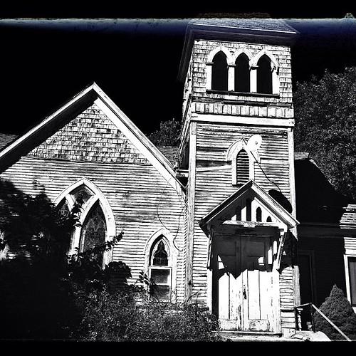 #abandoned #church #country #urbana #illinois