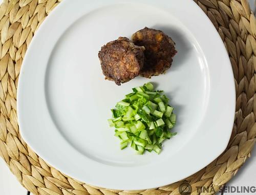 Fleischküchle mit Zimt