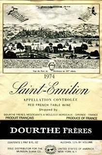 France - St. Émilion 1974
