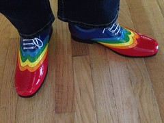 Rainbow wing tips arrived