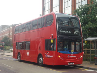 Stagecoach 10168 on Route 252, Romford