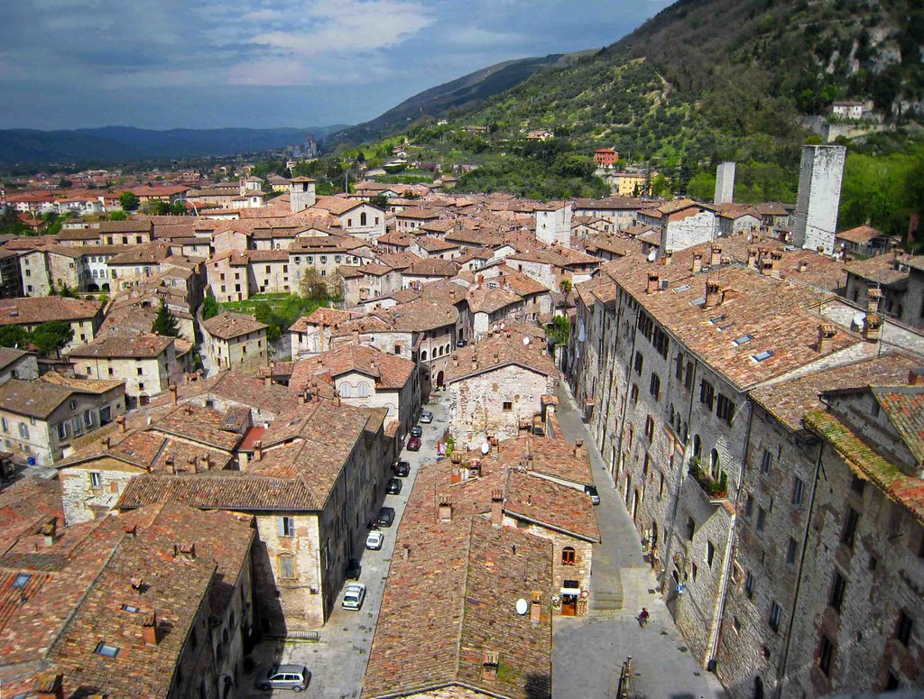 The roofs of Gubbio