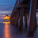 Naples Pier by Night by Marcel Jakob