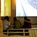 Saint Philibert  church, XII c. Dijon (церковь св. Филибера, XII в. Дижон). Exhibitions and scholars writing their essays (выставка в здании церкви и школьники, которые пишут эссе по материалам выставки)
