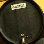 Malvasia de Sitges barrel in El Cable