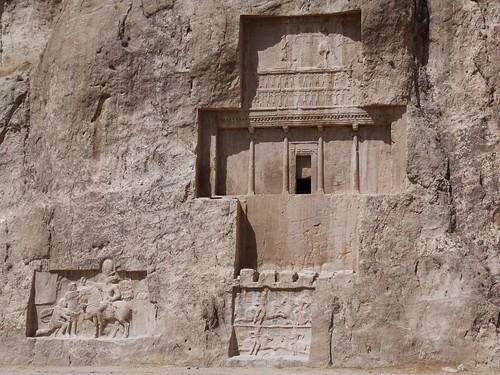 Tumba en Naqs-e Rostam (Irán)