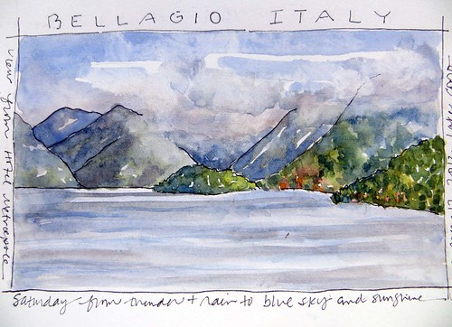 Italy ~ from my sketchbook
