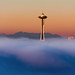 Seattle Space Needle by EdBob