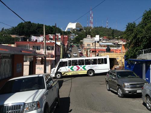 The @OaxacaCongress Bus @ Oaxaca 10.2013