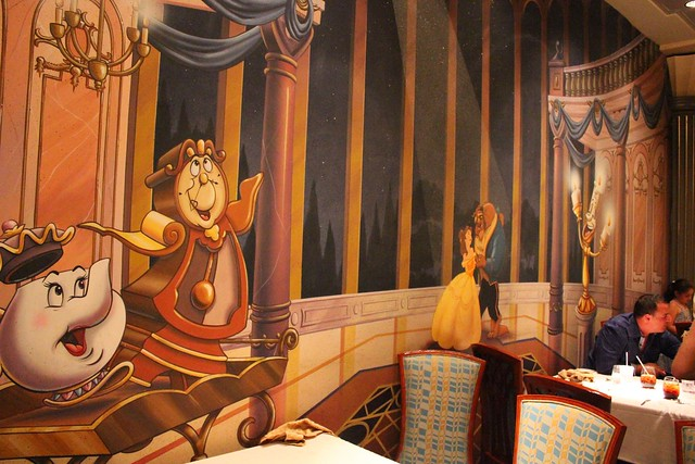 Lumiere's on the Disney Magic