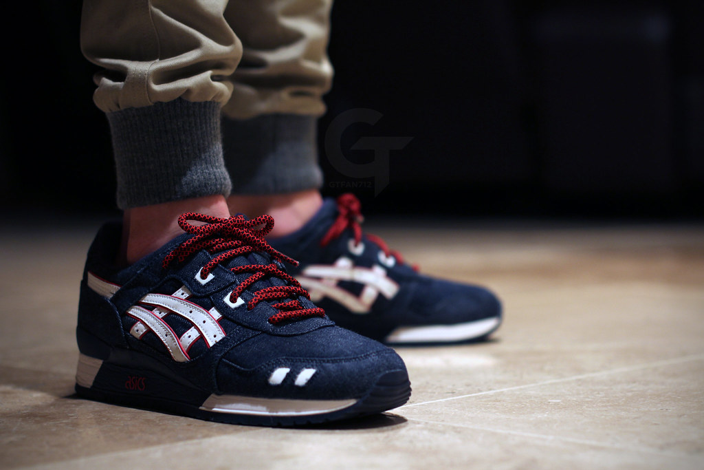 asics gel lyte 3 selvedge denim