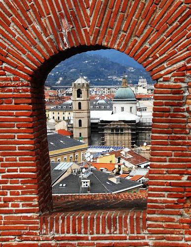 voyage travel italy castle window trek tour fort traveling savona costapacifica