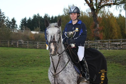 Clodagh Barry wins Omagh Academy Ulster Schools Showjumping cup