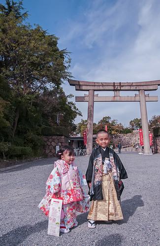 白玉神社で七五三
