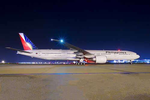 Philipines Boeing 777 LHR