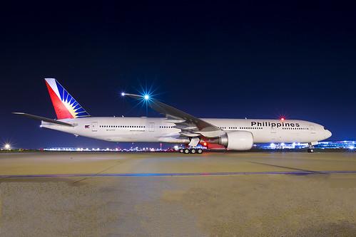 Philipines Boeing 777 LHR
