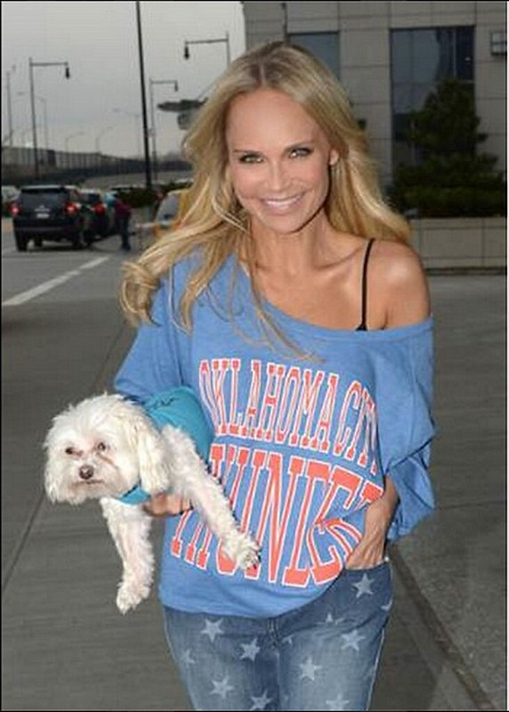 Oklahoma City Thunder Celebrity Fan Kristin Chenoweth