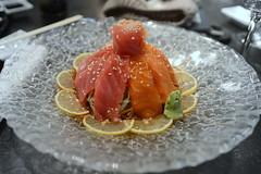 Sashimi Salad- פרוסות דגים על מצע �…