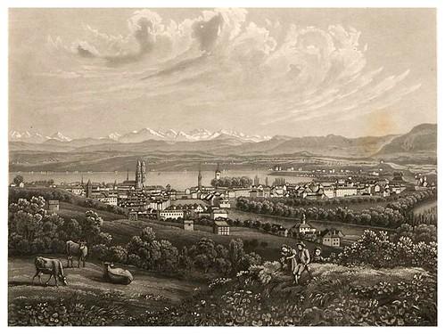 004-Zurich-Cinquante vues pittoresques de la Suisse… -Vía e-rara