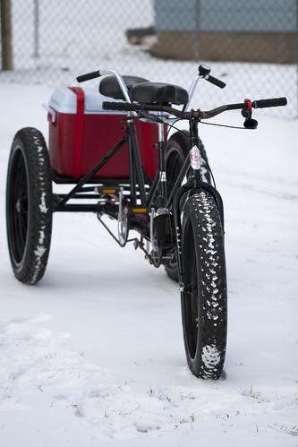 Tandem Trike Fat Bike