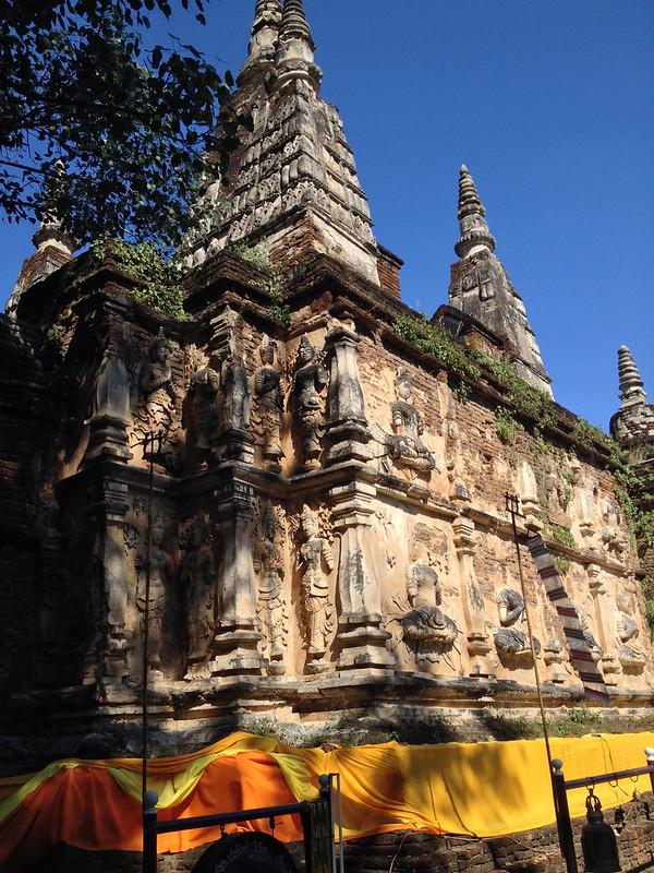 Maha Chedi, the central sanctuary