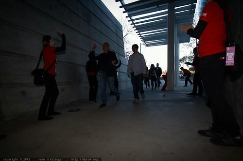 TEDx Volunteers Welcome Attendees   TEDxSanDiego 2013