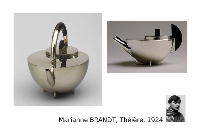 02. BRANDT Marianne, Théière, 1924